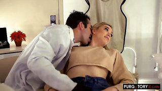 Anny Aurora fucks her horny Dentist