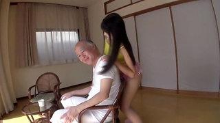 Charming busty Japanese Airi Satou