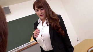 Temptation Of Busty Teacher