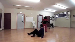 mature wheelchair dancing