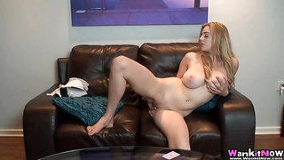 Hot Big tit blonde Joi - Blonde
