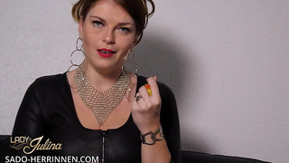 Experience an exciting Poppers adventure with Lady Julina