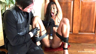 Belt Bondage for BDSM and Rough Sex