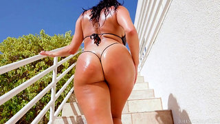 Latin American Slut With A Big ARSE