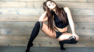 Slutty wife Little Caprice anally fucked by the mighty boss