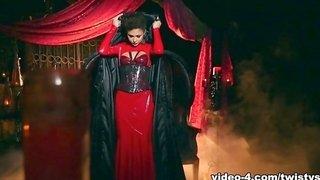 Ariana Marie in Sexy Vampire Scene - TwistysNetwork