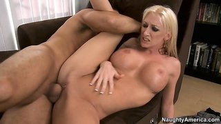 Nadia Hilton can't decide what she likes best about that magical shaft