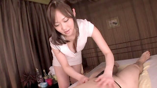 Horny Japanese whore in Best Massage, Handjob JAV scene