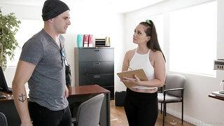 Nathan Bronson enjoys fucking seductive masseuse Gia Paige after nuru massage