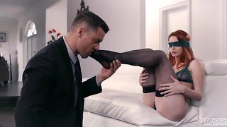 Erotic sexual interlude for formidable ginger fox Lacy Lennon