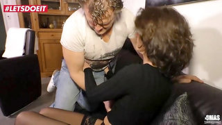 Letsdoeit - Naughty German Gilf Fucked Rough By Lover