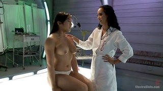 Isis Love & Mia Li in Deep Electro Examination - Electrosluts