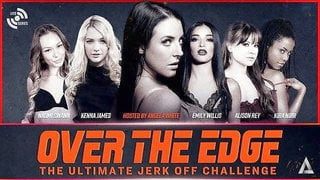 ADULT TIME Angela White - OVER THE EDGE Jerk Off Challenge