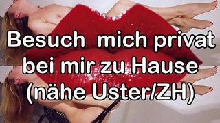Zierliche Schweizer Privatfrau