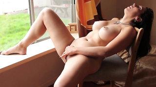 Masturbating with view