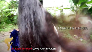 LONG HAIR PLAY , AND PULLING