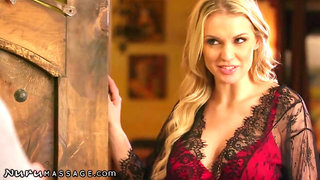 Cheating Husband Visits Kenzie Taylor for Full Service -NuruMassage