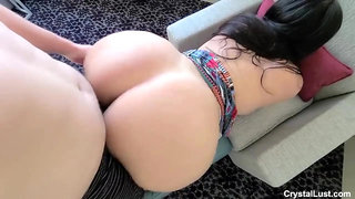 Booty latina MILF amateur porn video