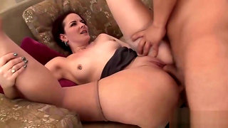 Bootylicious Redhead Milf Has Her Beaver Plugged