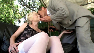 Russian Thick-Dicked Boss Nailing Employee