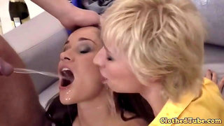 Coed Irina Bruni Piss threesome sex
