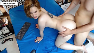 fucking a big butt in the anus - Amateur