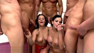 Anal whores in wam facial