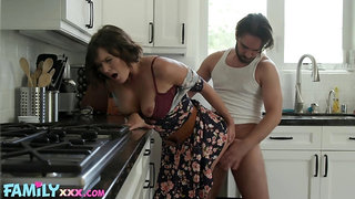 Perpetually frisky MILF Krissy Lynn gets taken hard by a stud