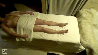 Spy cam catches amazing happy ending for hot milf