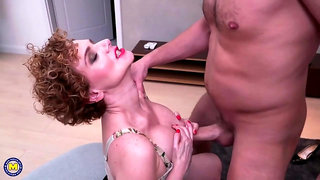 Spanish Wife Big Natural Melons Impassioned Sex