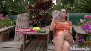 Twistys - Sandra Shine starring at Tennis Anyone