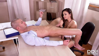 Blowjob Quickie at the Office
