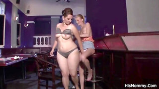 HisMommy - Night club owner boinks son's girlfriend