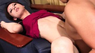 Japanese Stewardess Handjob Part 2