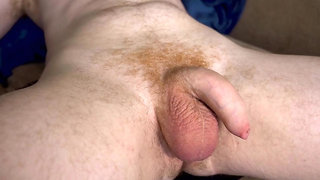 Handsfree Soft to hard timelapse of uncut dick