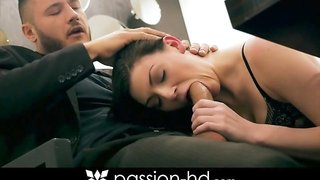 PassionHD Jessica Rox in stockings fucking
