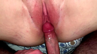 Creampie for my curvy girlfriend