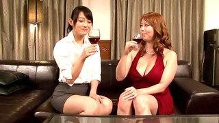 Incredible Japanese whores Sho Nishino, Yumi Kazama in Fabulous JAV censored Fingering, MILFs movie