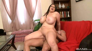 Daphne Rosen has huge tits and can lick her own nipples!