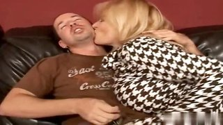Lynn Lemay is blond hair lady with huge melons and a