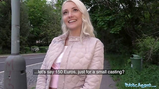 Horny Tourist Helena Moeller is Hungry for Czech Cock