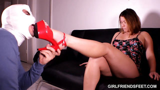 Submissive to High Heels