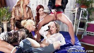 Wam group lesbos piss