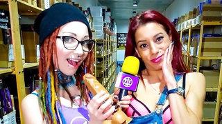 Naughty backroom fuck with redhead German pornstar Bonni Ryder and newbie
