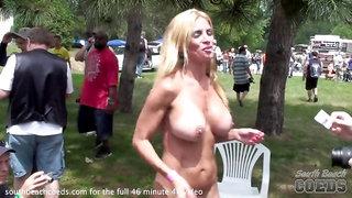 stripper contest at indiana nudist resort