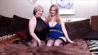 Super hot chubby amateur Matures threesome