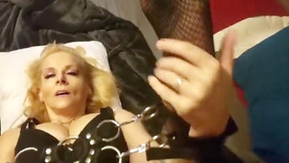 Sonny finds milf step mommy bound up gives numerous orgasm & gargles jizz *taboo*