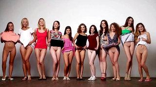 Models Undressed - Striptease