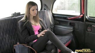 Italian College Student Exchanges Her Fit Body For A Taxi Ride