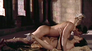 Stunning Tera Patrick makes a guy bust on her ass